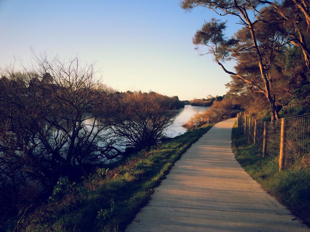 Sunset walk 1 by Ziblink