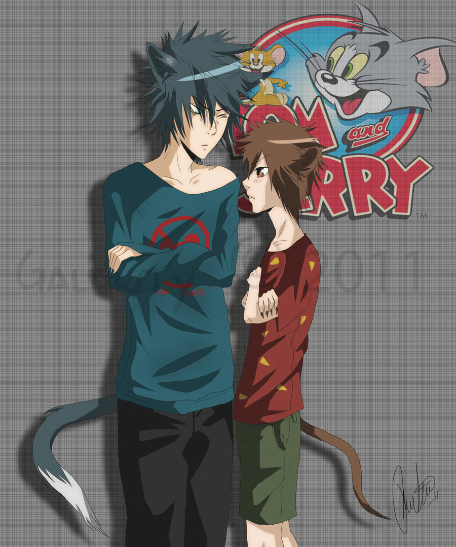 Tom and Jerry by Galanty on DeviantArt