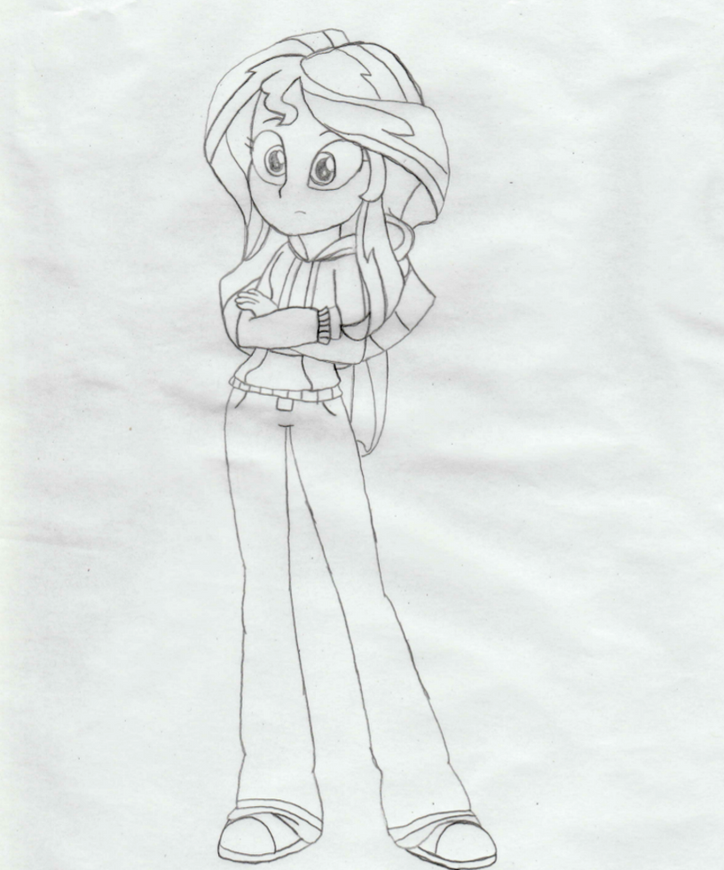 sunset shimmer coloring pages - photo#22