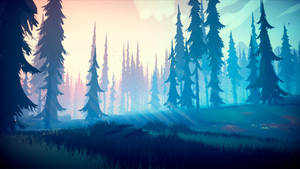 Among Trees - Enchanting Forest