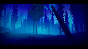 Among Trees - Blue Night