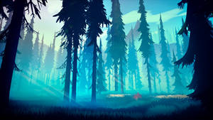 Among Trees - Cyan Forest