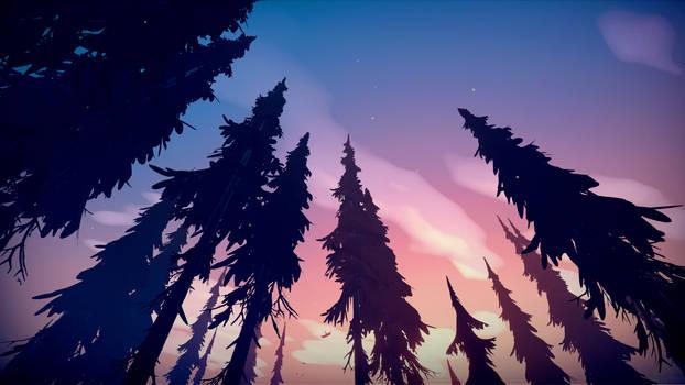 Among Trees - Tall Trees