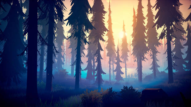 Among Trees - Gorgeous Forest