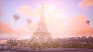 Overwatch - Eiffel Tower