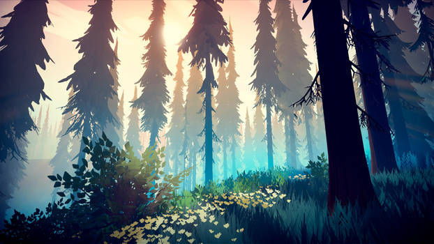 Among Trees - Dawn