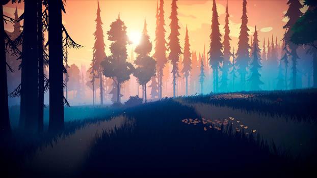 Among Trees - Shadow