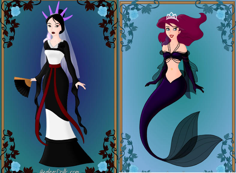 Gothic Princesses (Disney) part4