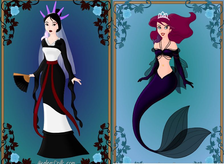 Gothic Princesses (Disney) part4 by Missgagagothlawyer