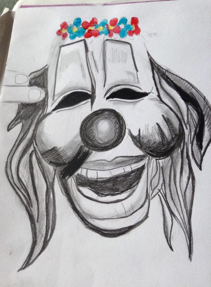 Slipknots' Clowns Mask by Missgagagothlawyer