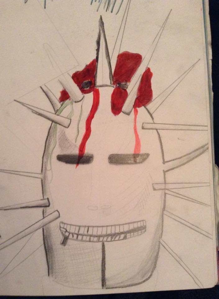 Slipknots Craig Jones' Mask by Missgagagothlawyer