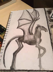 Thestral From Harry Potter