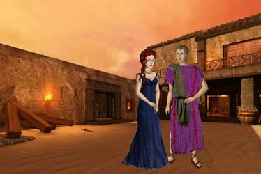 Lucretia And Batiatus