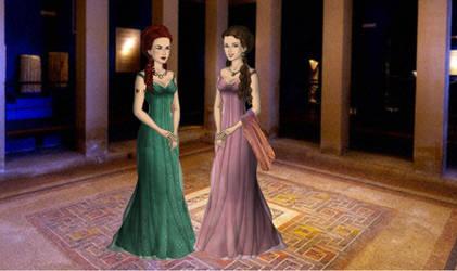 Gaia and Lucretia