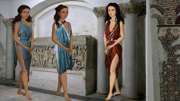 Naveia Melitta and Mira