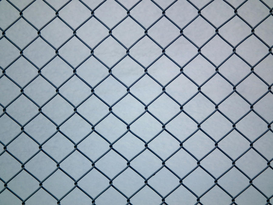 Wire mesh fence closer by limited vision stock on deviantart