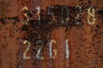 Rusty Spot on Container