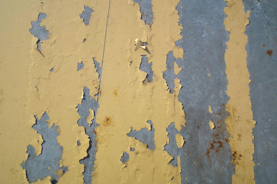Metal peeling paint 01 by Limited-Vision-Stock