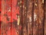 Old wood paint