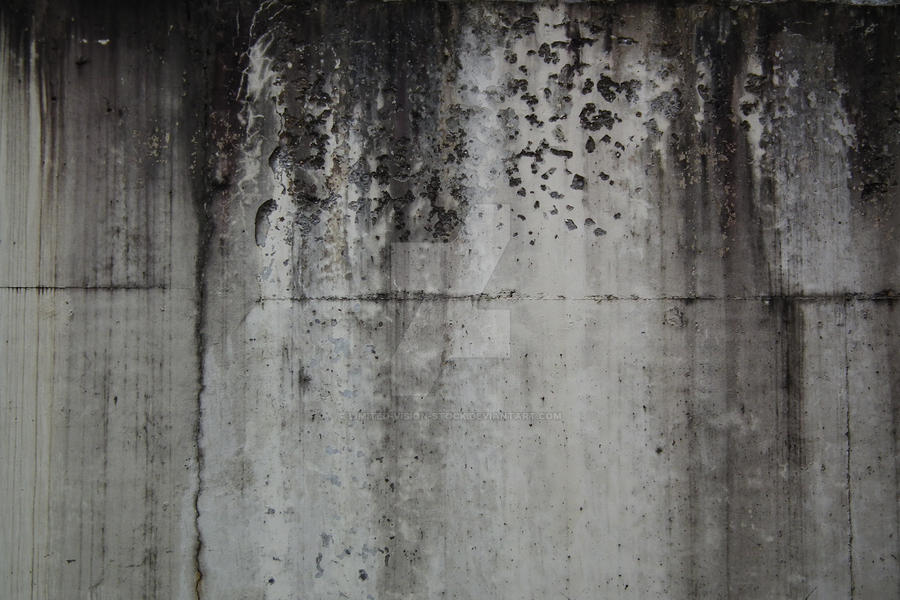 Dirty Concrete Wall by Limited-Vision-Stock
