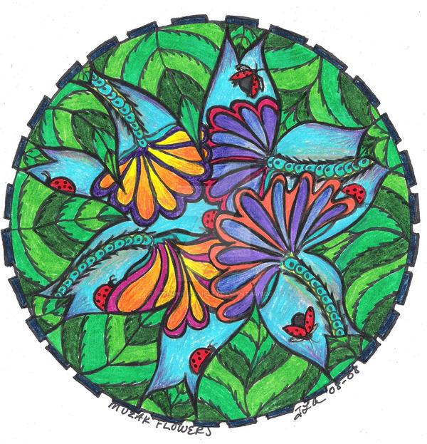 Muzak Flowers by PeriwinklePaisley on DeviantArt