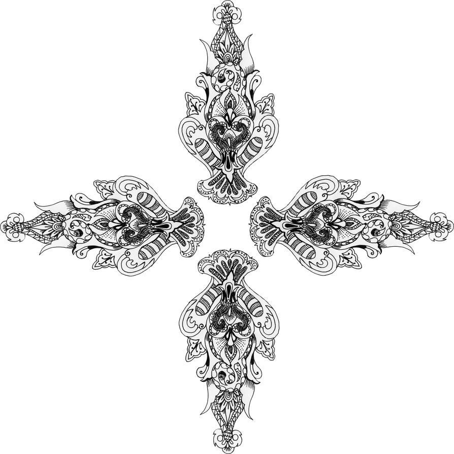 Mandala Collab By PeriwinklePaisley