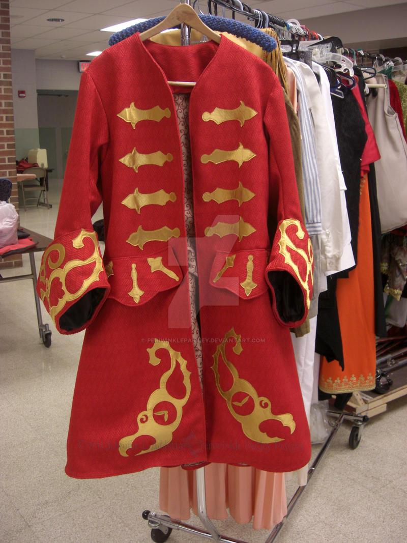 Captain Hook Red Coat by PeriwinklePaisley