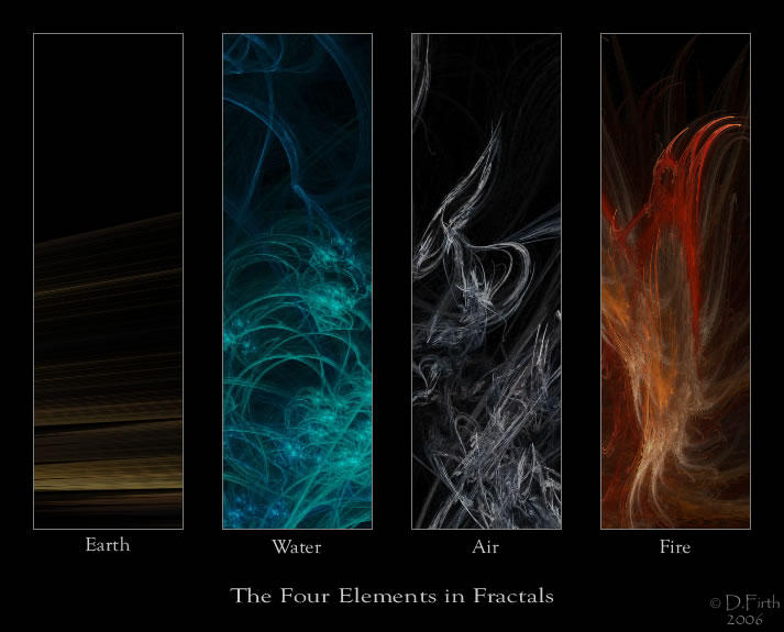The Four Elements by RedundantButterfly