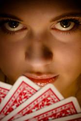 Poker face by BWozniakPhotography