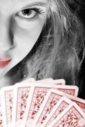 Poker face 2 by BWozniakPhotography