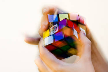 Rubik's Cube by BWozniakPhotography