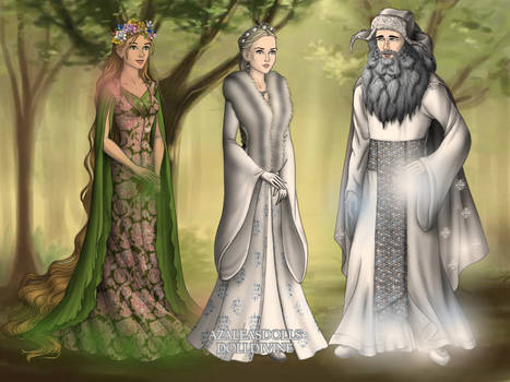 LotR-maker-Azaleas-Dolls - Snow Maiden's family