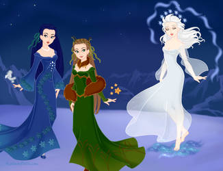 Ladies of Kalevala by Aranel125