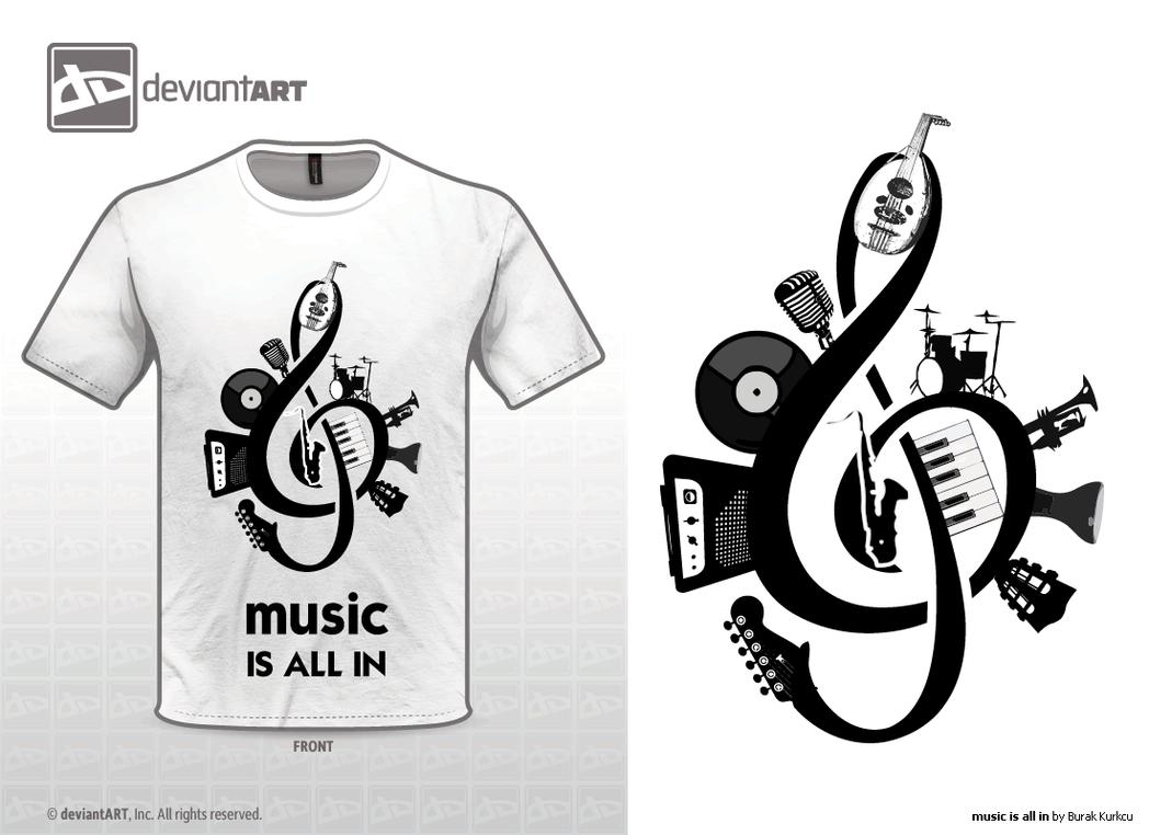 music is all in by Burakkurkcu