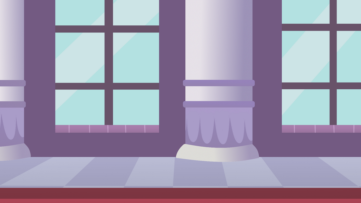 Canterlot Castle Hallway Background by LibbytheKautz on ...