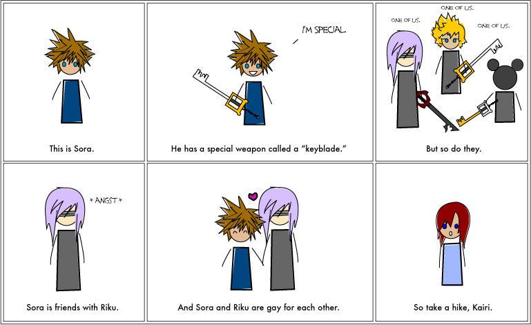 Sora is Gay for Riku. by HappyDappyDrunk