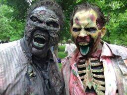 Zombie Walk 1 by dragonhuntr