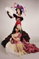Yuuko and Himawari by BettyValentine