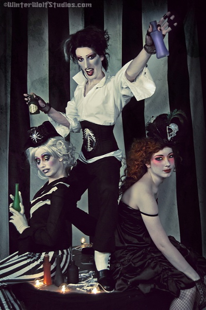 Dark carnival by BettyValentine