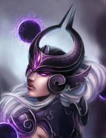 Syndra, the Dark Sovereign by Solanj
