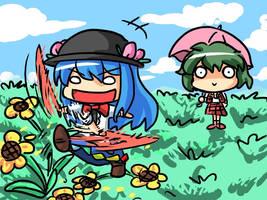 Tenko and Yuuka by Selgadis