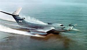Ekranoplan Caspian Sea Monster