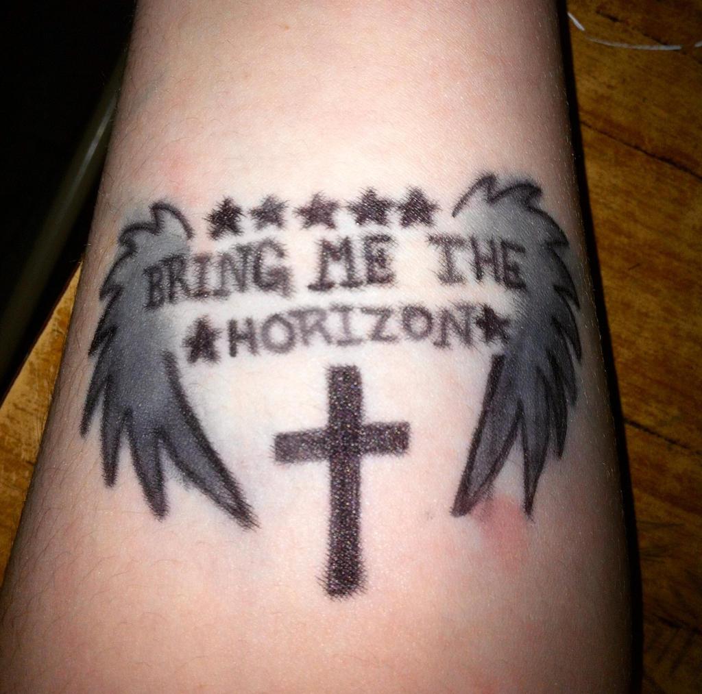 Bring Me The Horizon Tattoo Anchor