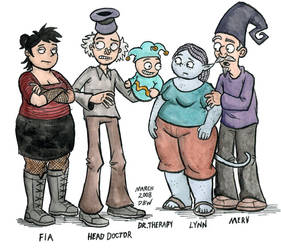 Head Doctor Characters