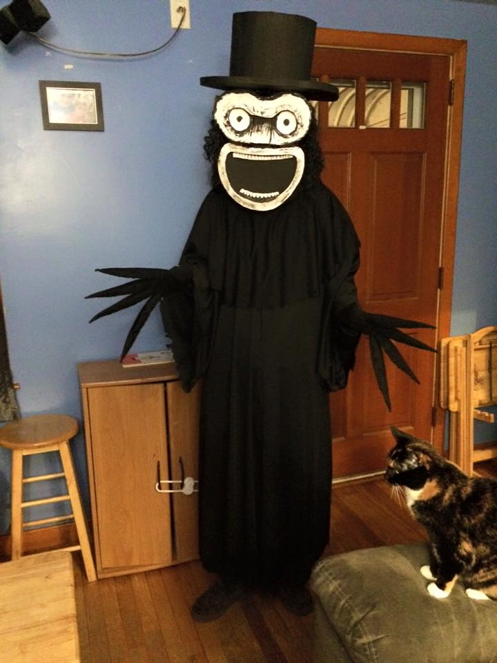 Halloween Babadook by stinkywigfiddle