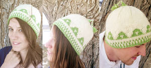 Knit Ordon Village Triforce Hat