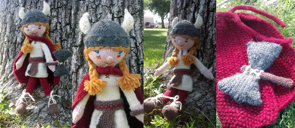 Viking Doll by kateknitsalot on deviantART