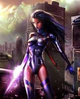 Psylocke by whyeff21