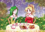 Maiden's tea party