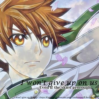 i won't give up by tsukasawolf
